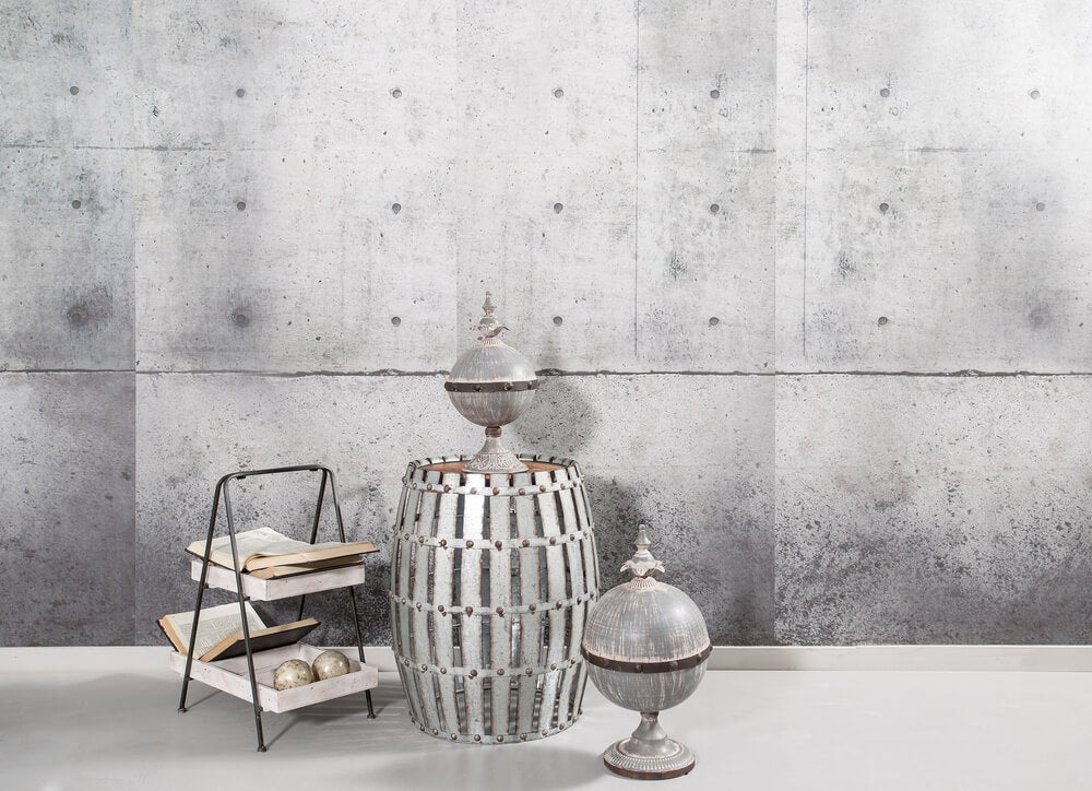 Usar barril para decoração minimalista-Barris