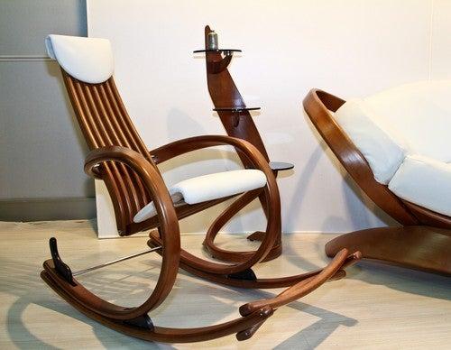 A modernidade nas cadeiras de balanço