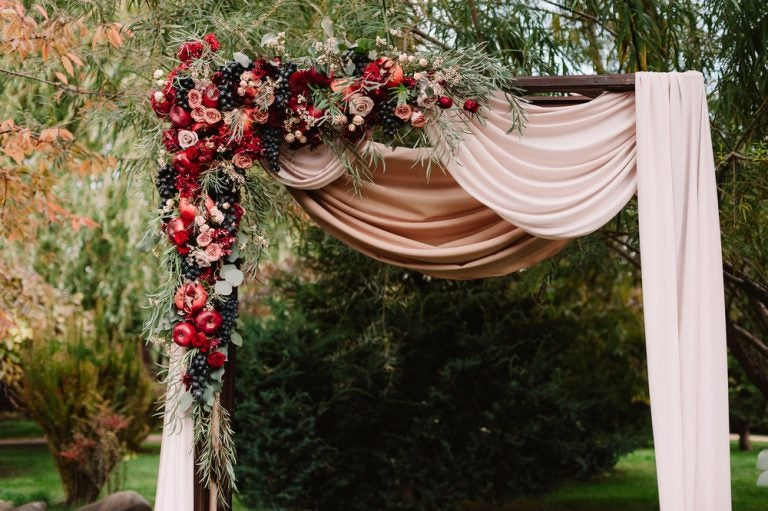 Celebrar o seu casamento no outono, a época perfeita