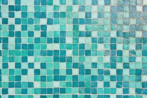 Ideias para decorar banheiros azul-turquesa