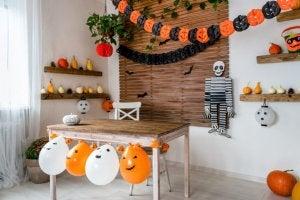 Decorar a sua lareira no Halloween