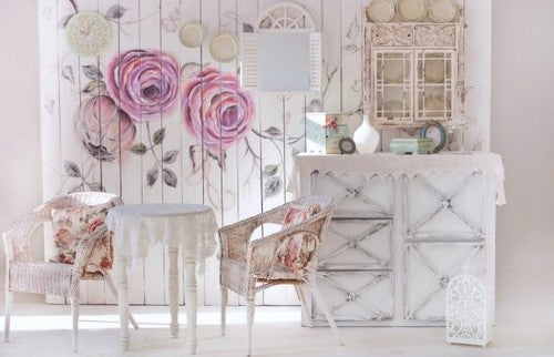 Como decorar no estilo shabby chic