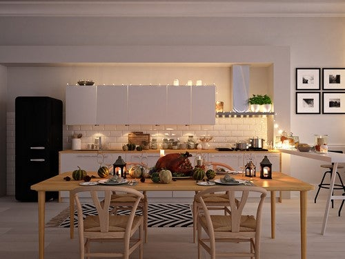 Considerações a se ter em mente antes de escolher uma cozinha aberta ou fechada