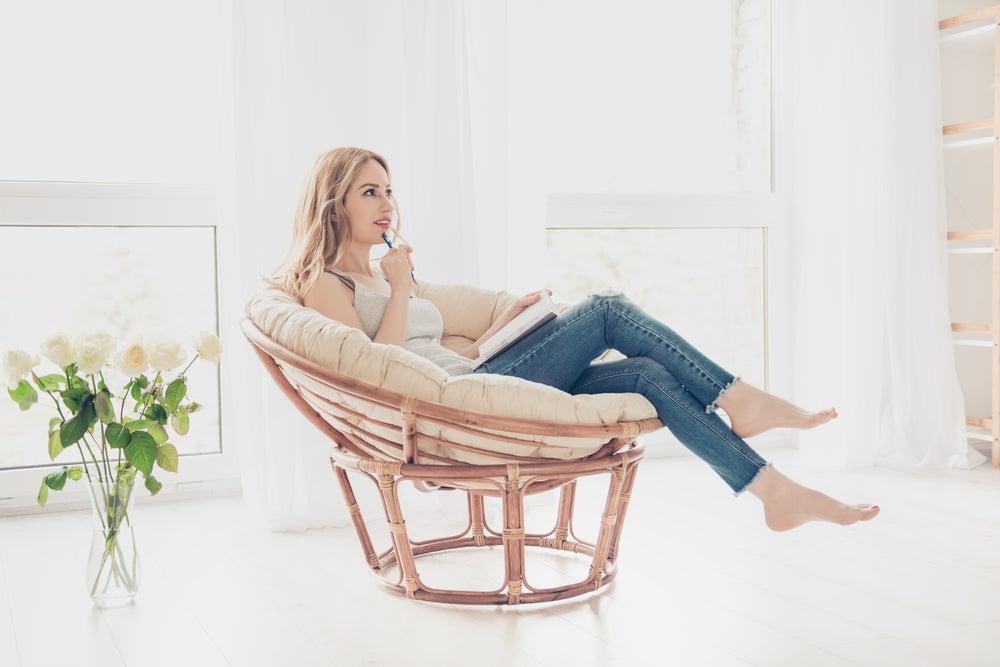 Cadeiras giratórias confortáveis para a sua casa