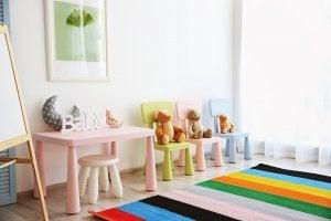 tapetes coloridos