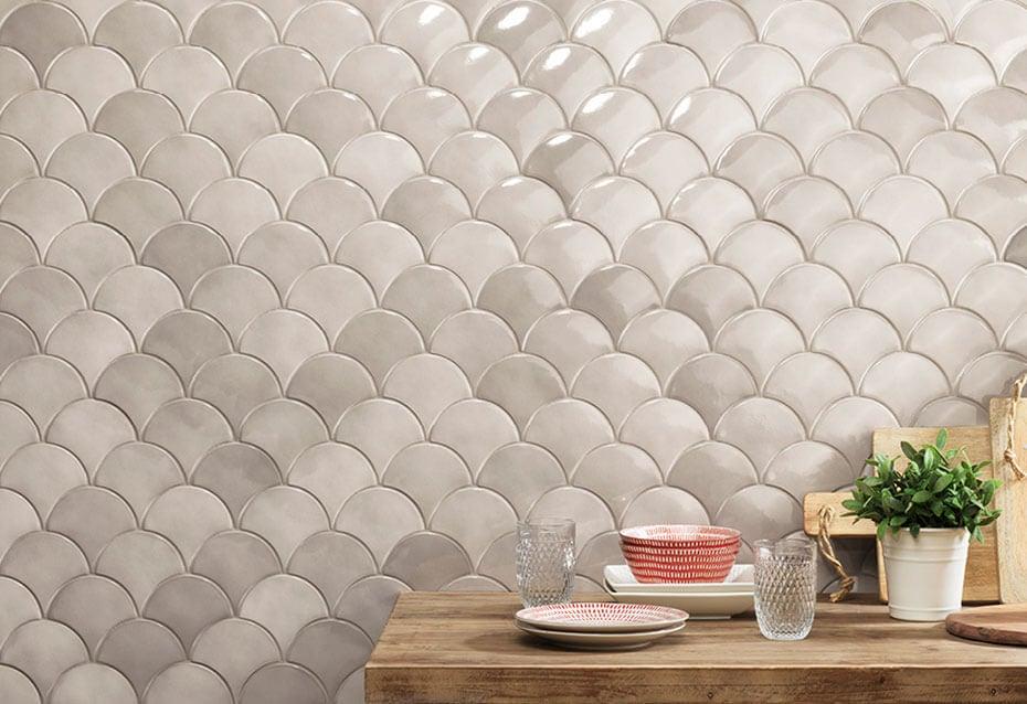 azulejos de escama cozinha
