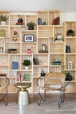 organizar uma biblioteca