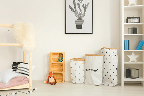 A importância de ensinar os filhos a arrumar o quarto