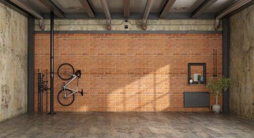 bicicleta na vertical