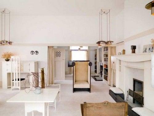 A mobília vanguardista de Mackintosh