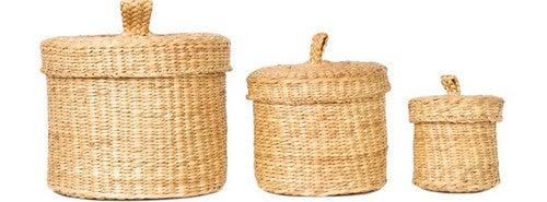 Os cestos de vime são tendência e podem ser utilizados para diferentes propósitos