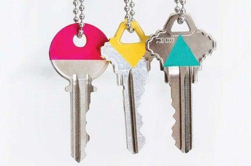 Ideias originais para identificar suas chaves