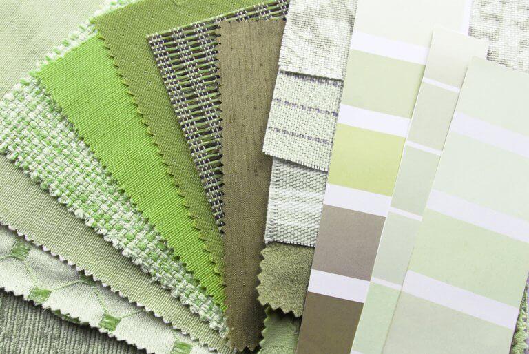 Combinações de cores para acertar com o greenery