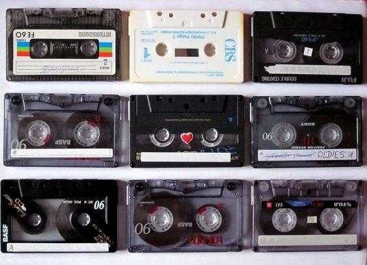 Decoração com fitas cassete: uma maneira de fazer upcycling