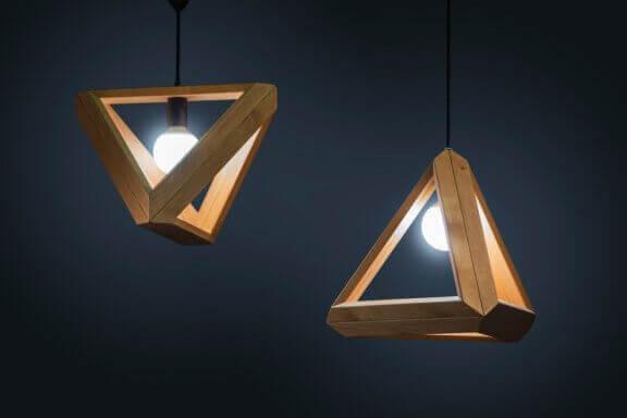 A tendência de móveis com formas geométricas