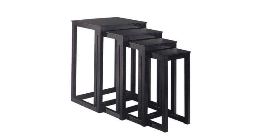 As mesas aninhadas