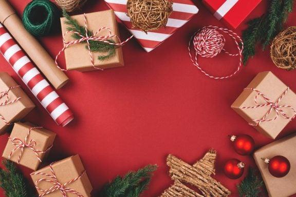Ideias para embrulhar os presentes de Natal