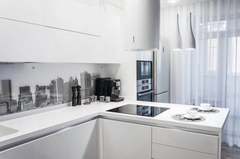 Os móveis de cozinha podem ser muito decorativos