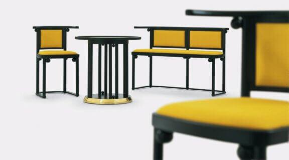 Os designs de Josef Hoffmann