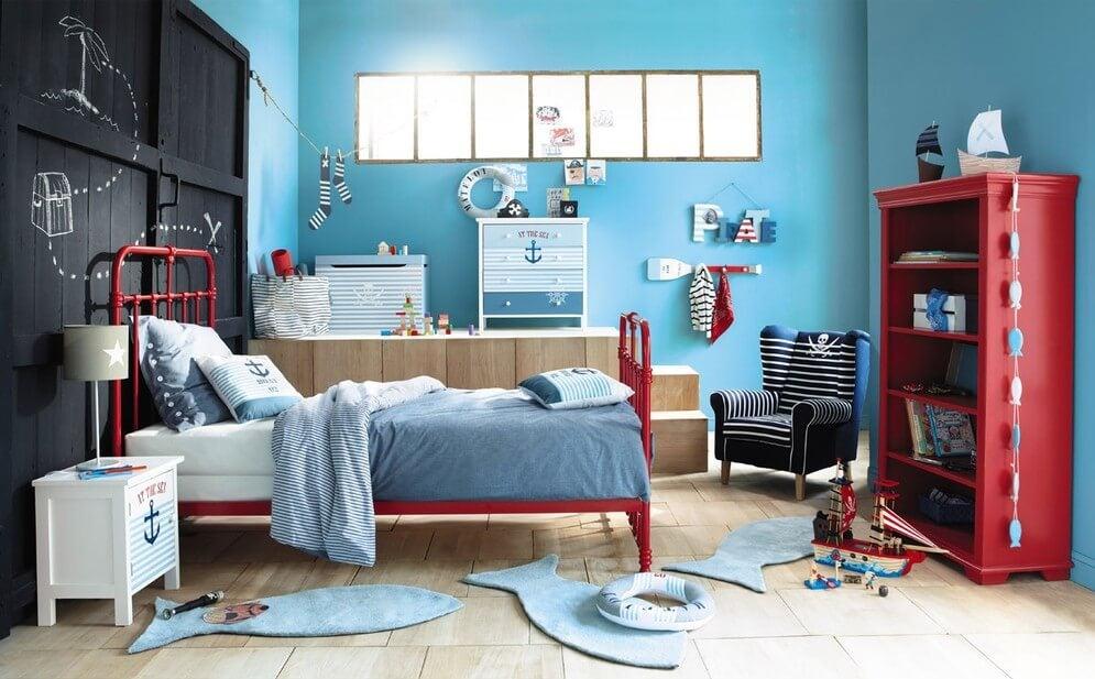 Ensine algumas orientações decorativas ao seu filho
