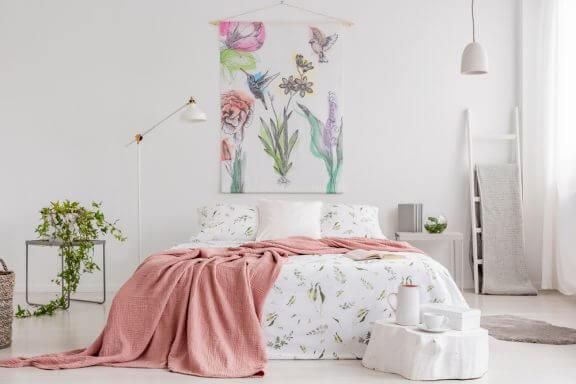 3 formas de decorar com tapeçarias