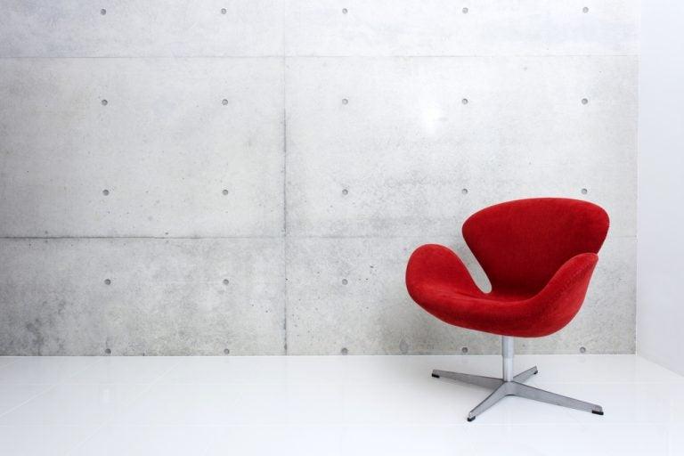 A cadeira Swan é sinônimo de sutileza