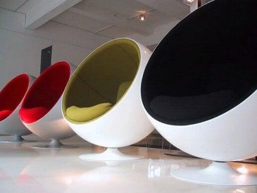 Cadeira Ball Chair: inovação e vanguarda