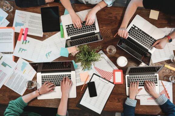 Design de interiores de escritórios coworking