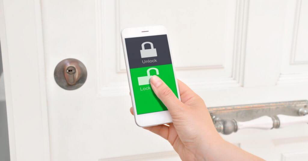 Arquitetura domótica: aplicativo para trancar portas