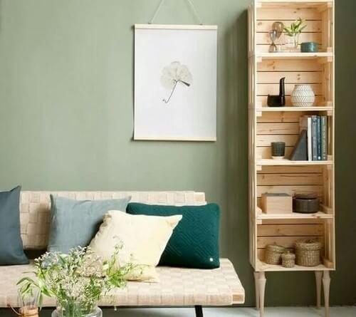 As caixas de madeira são outro elemento básico dos amantes do DIY