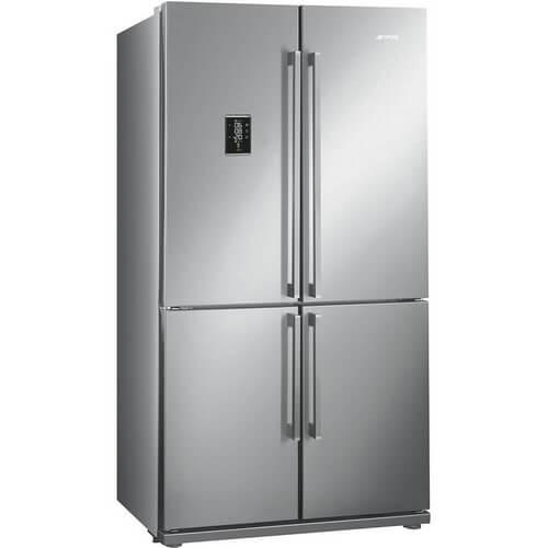 Esta geladeira estilo americano da marca Smeg combina todas as qualidades tecnológicas e os melhores recursos para oferecer um serviço de alta qualidade