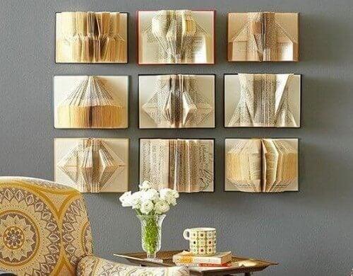Formas inovadoras para decorar as paredes