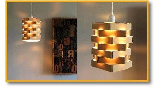 Uma luminária muito original
