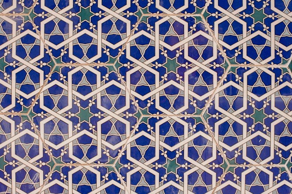 Como usar motivos geométricos na decoração