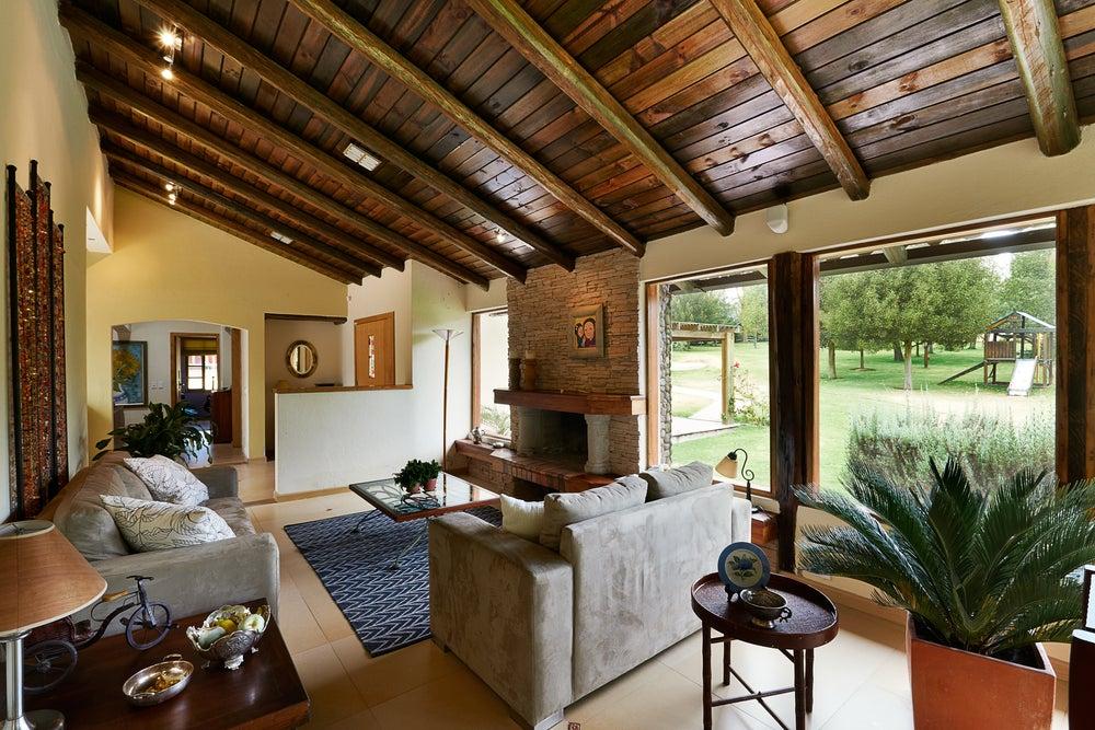 móveis de casa rústica