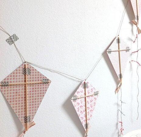 Pipas feitas de tecido