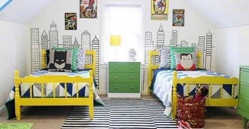 Os 6 melhores temas para quartos infantis