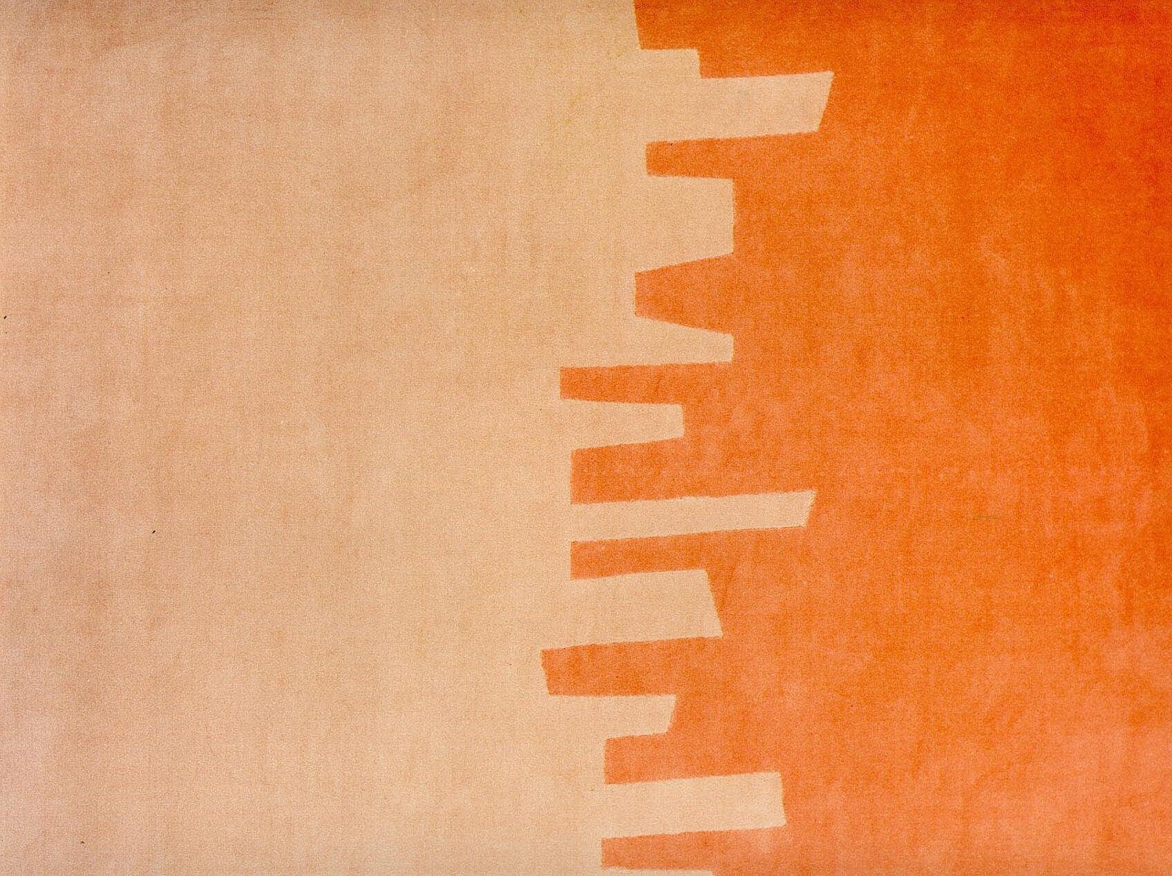 Tapetes com designs arquitetônicos para as paredes