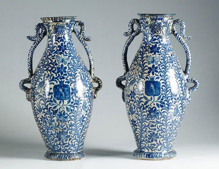 Em que consiste a técnica da cerâmica vidrada