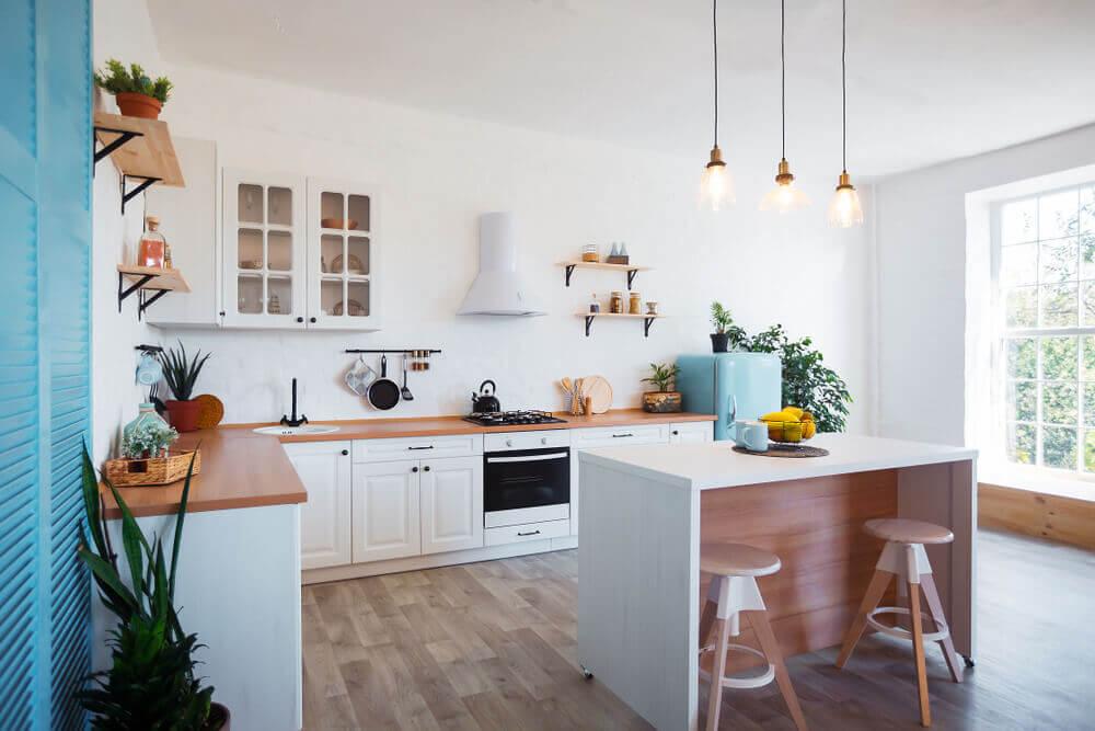 Decoração de baixo custo para a cozinha