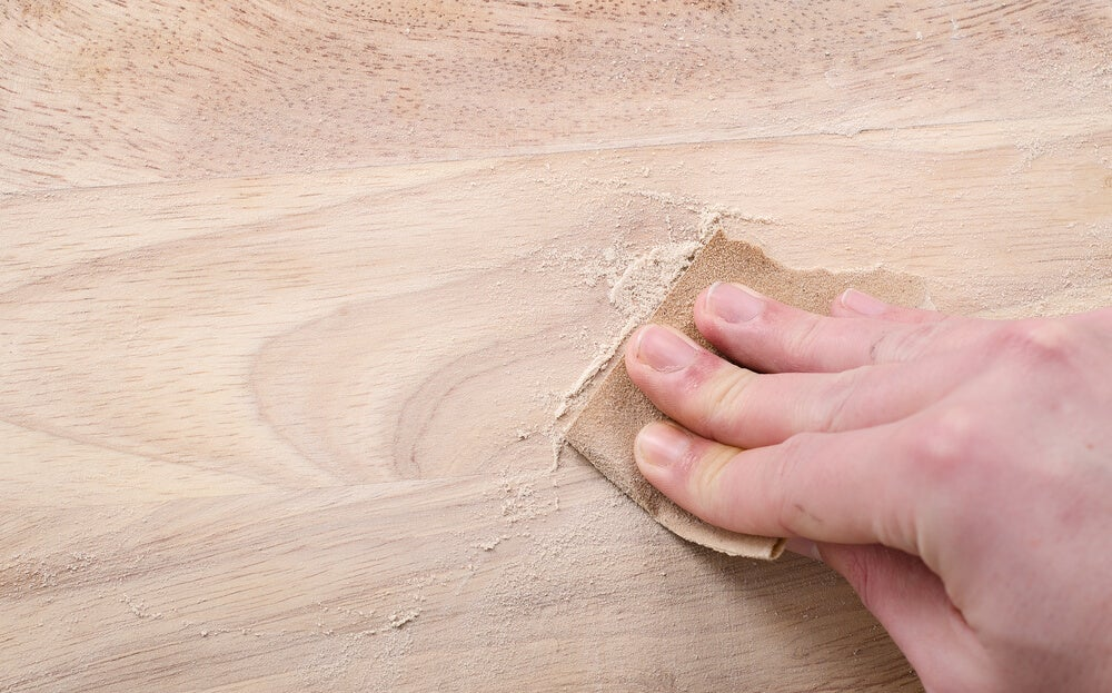 Preparar a madeira