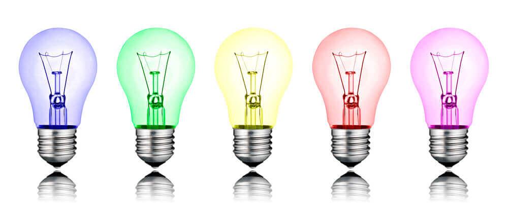 como criar um ambiente alternativo usando luzes coloridas