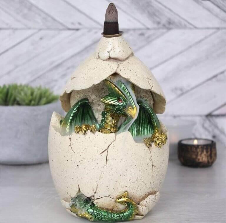 ovo de dragão do game of thrones-decoração para fãs