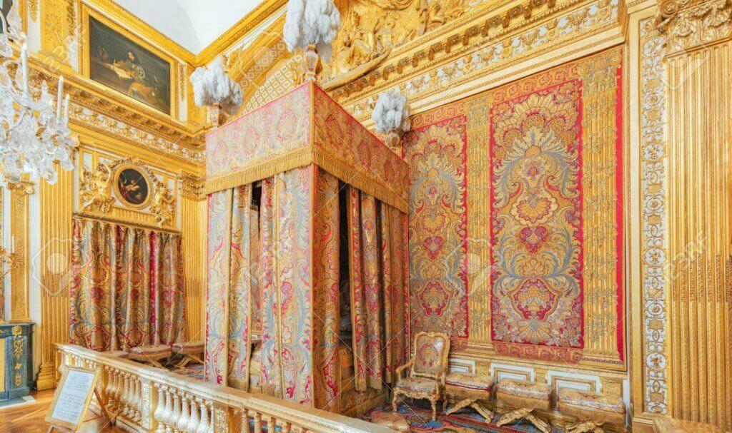 O quarto de estilo versalhês, um ambiente dos sonhos