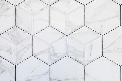 Osazulejos da sua cozinha podem ser em forma de hexágono, quadrado ou em ziguezague