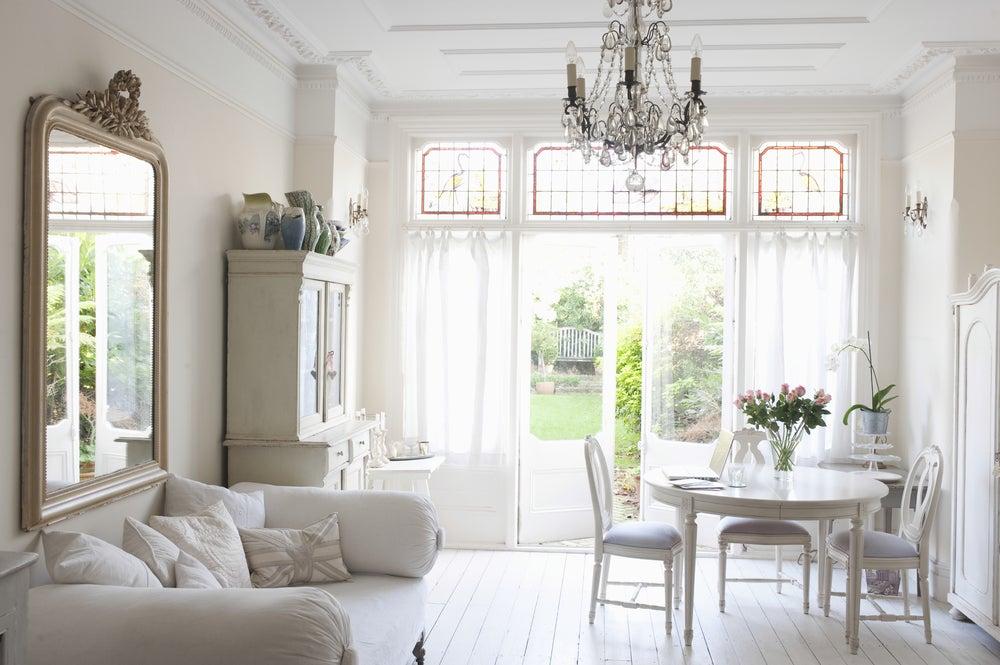 Design de interiores com estilo francês