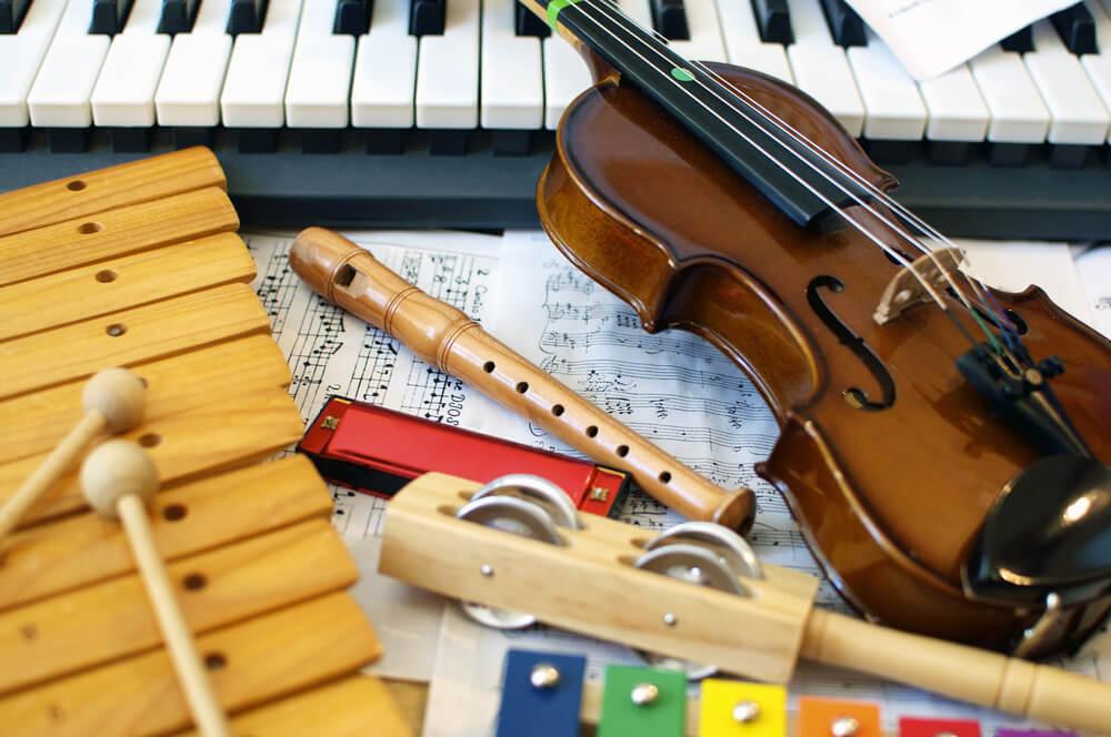Decoração musical para a casa