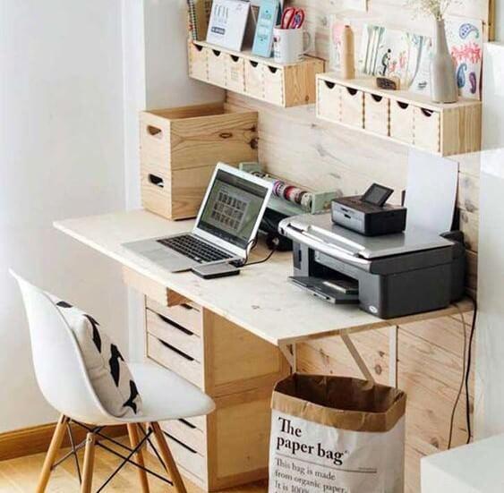 Móvel multifuncional-escrivaninhas originais