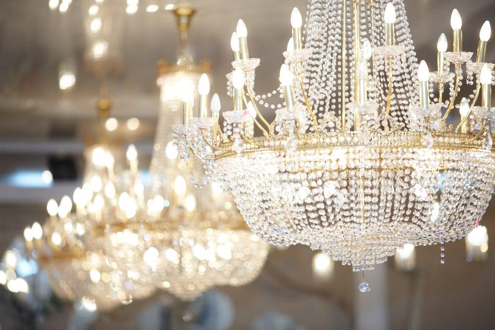 Recursos decorativos com estilo francês