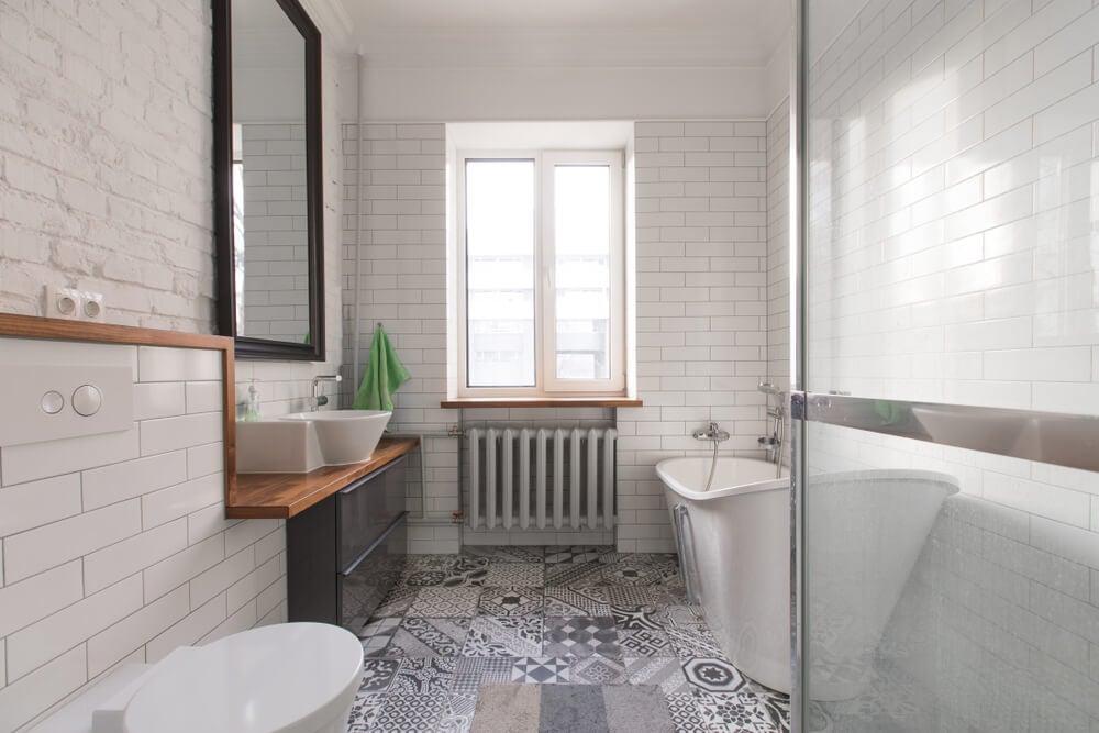 Requisitos de fiação elétrica para um banheiro